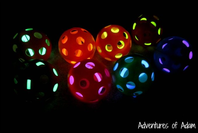 DIY Glow in the dark balls