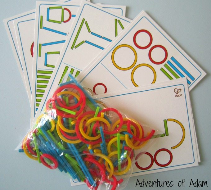 Early shape mathematical development game