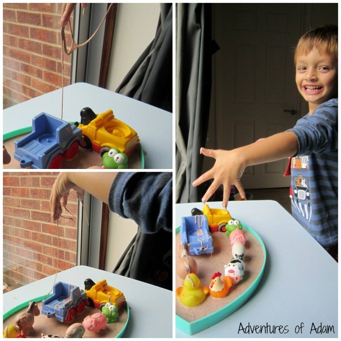Enjoying messy play with Sensory Processing Disorder