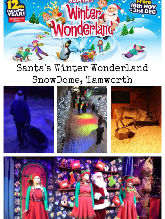 Santa's Winter Wonderland at SnowDome