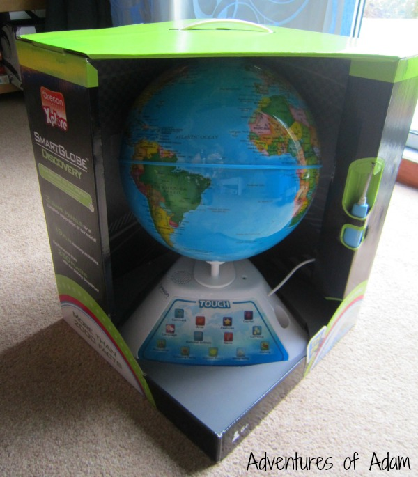 Smart Globe packaging