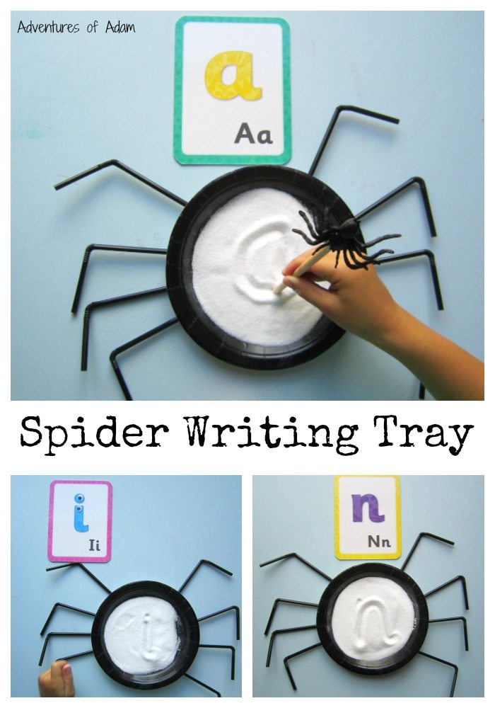 Spider Writing Tray