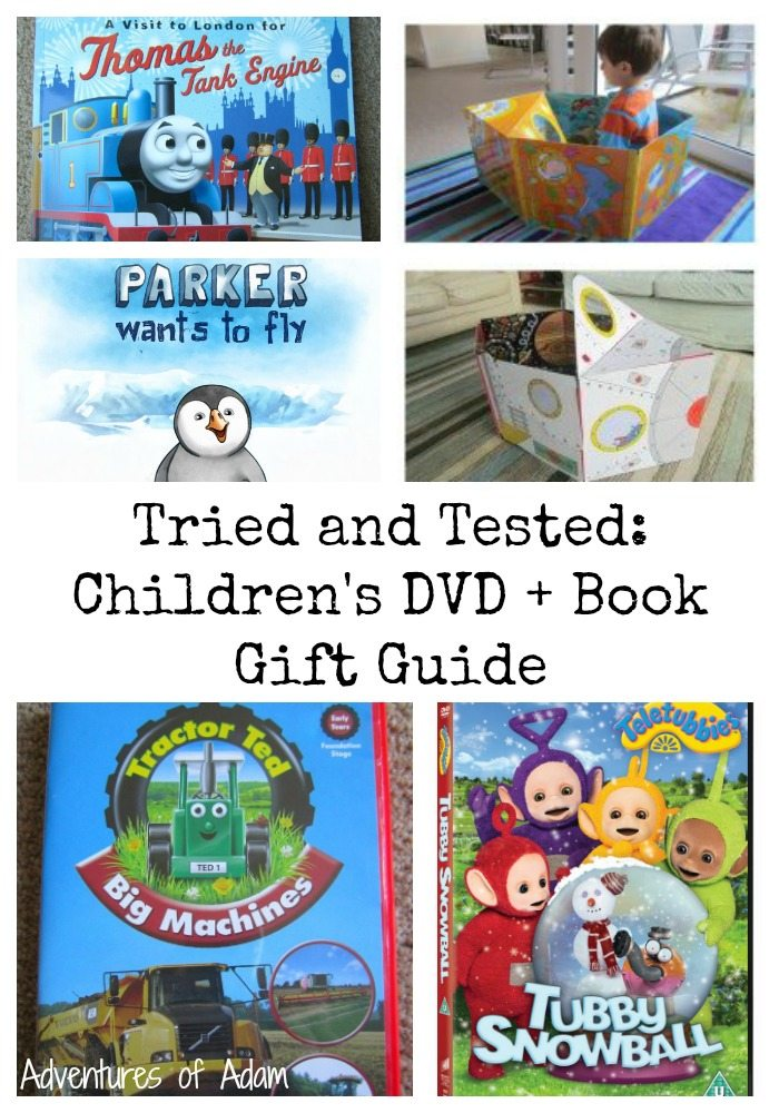 Tried And Tested Children S Dvd And Book Gift Guide Win