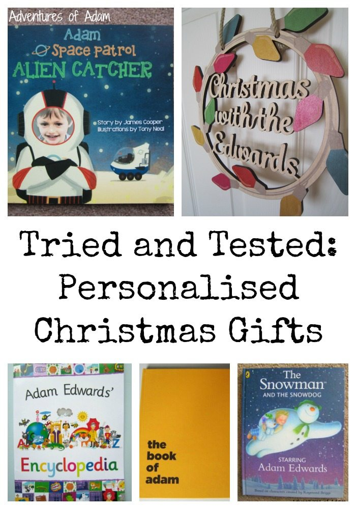 Tried and Tested: Personalised Christmas Gifts