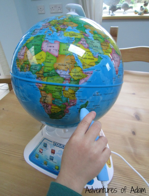 Using the Smart Globe Discovery