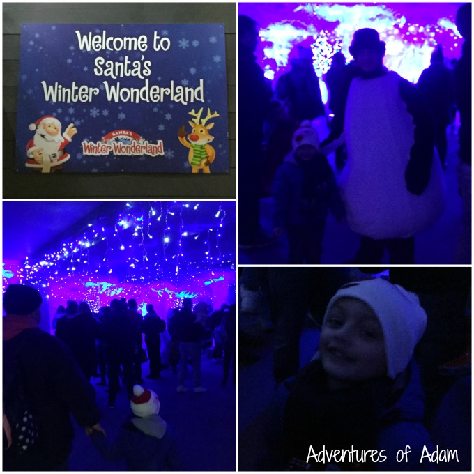 Waiting for Santa's Winter Wonderland at SnowDome Tamworth