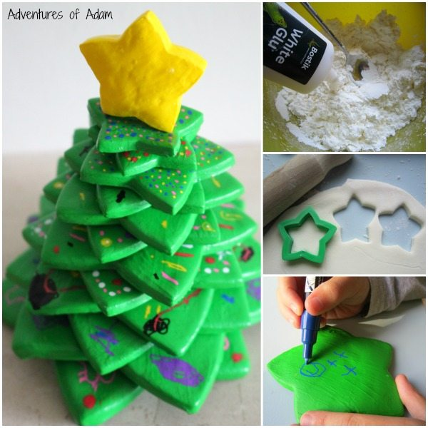 3D Christmas Tree using DIY Clay