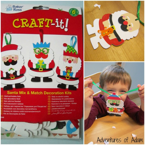 Baker Ross Santa Decoration Kits