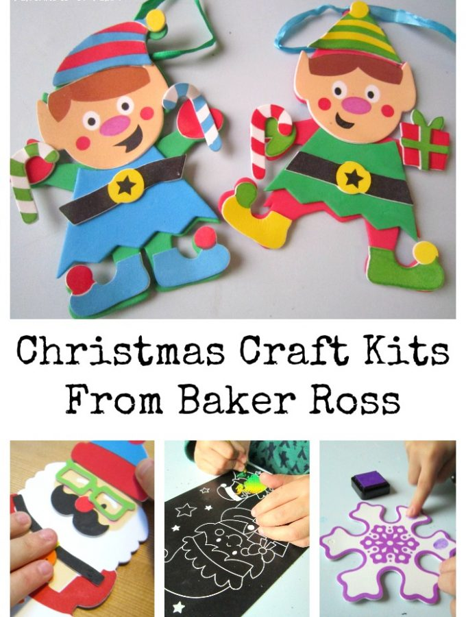 Christmas Craft Kits From Baker Ross