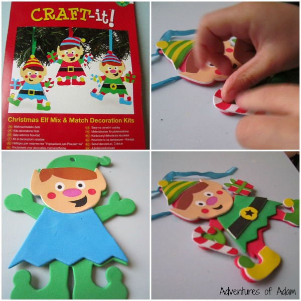 Christmas Elf Mix and Match Decoration Kits