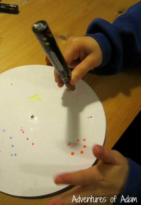 Mark making with Chalkola pens