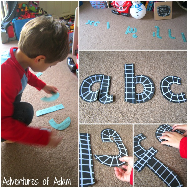 Polar Express letter formation