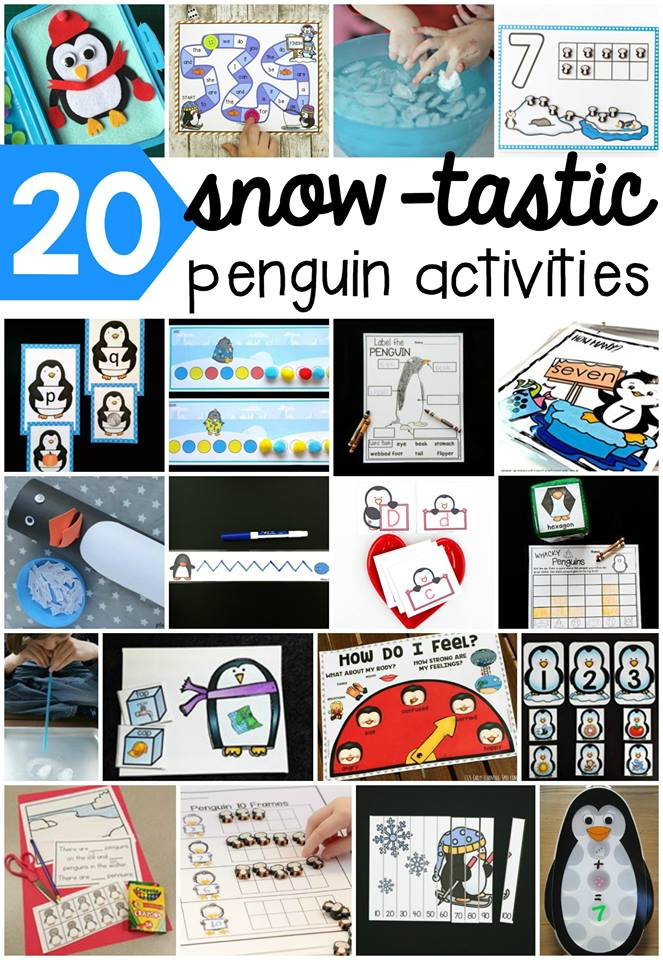 20 Penguin Activities