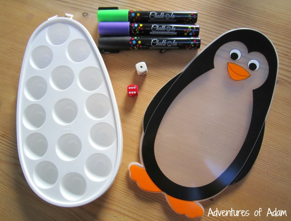 Penguin addition game