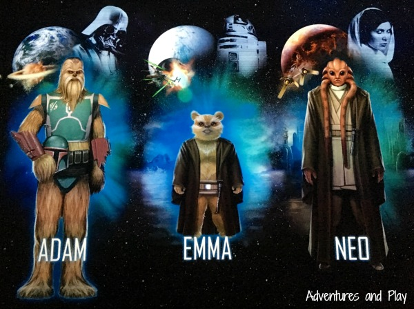 Create your own Star Wars character