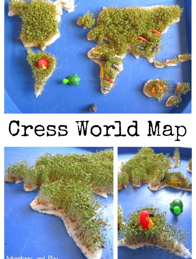 Cress World Map