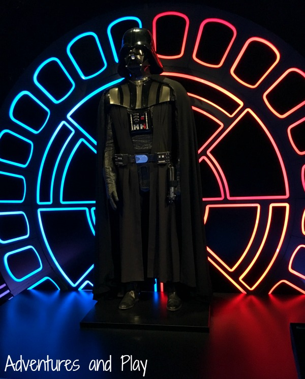 Darth Vader at Star Wars Identities Exhibition