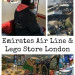 Emirates Air Line and Lego Store London