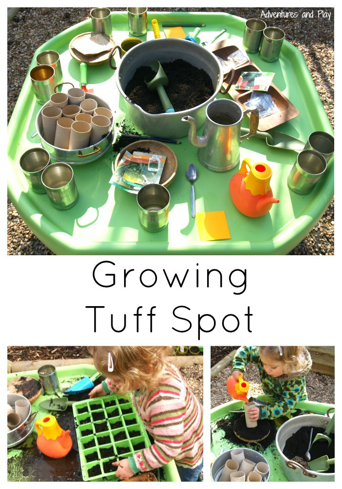 Growing Tuff Spot
