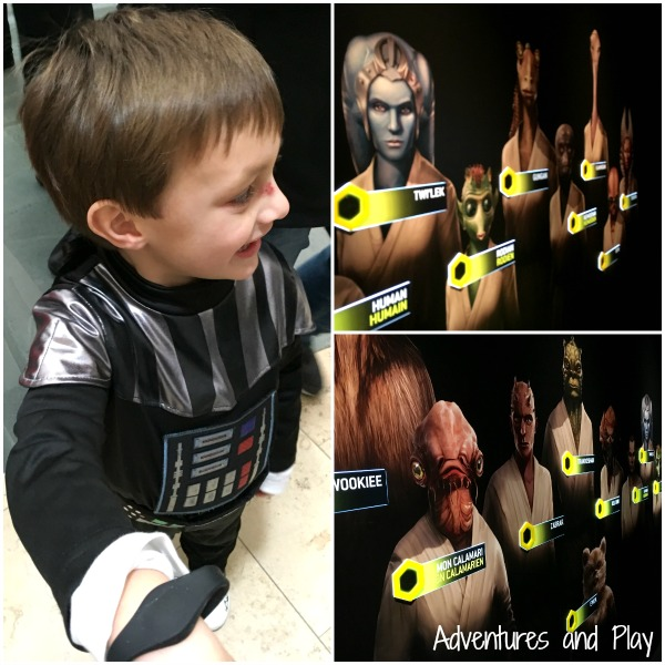 Interactive Star Wars exhibition