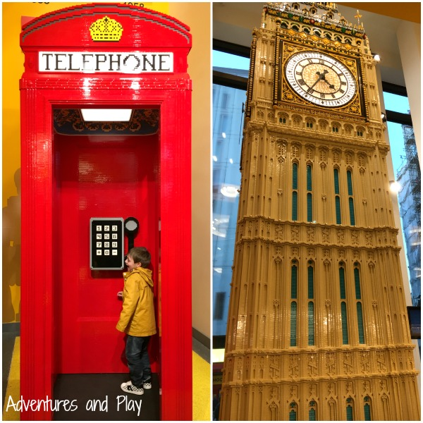 Photo opportunities at Lego Store London
