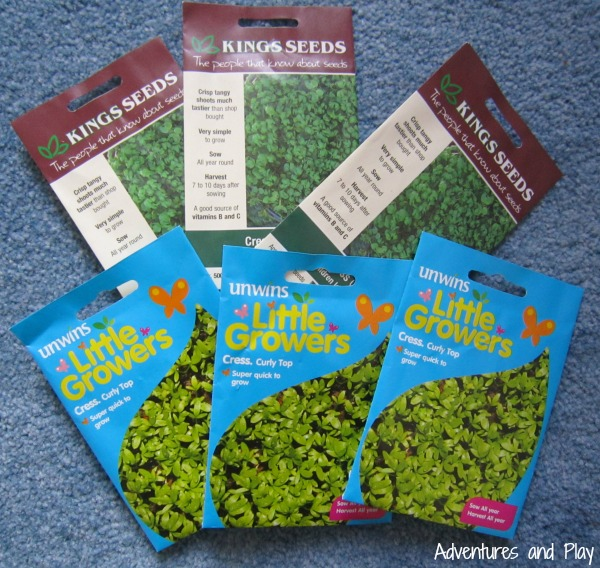 Resources to make a Cress World Map