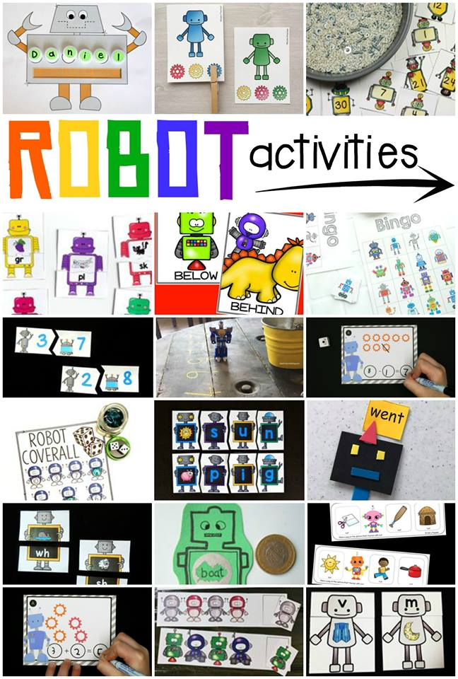 Robot play activities