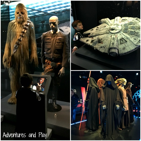 Taking a child to star wars identities exhibition