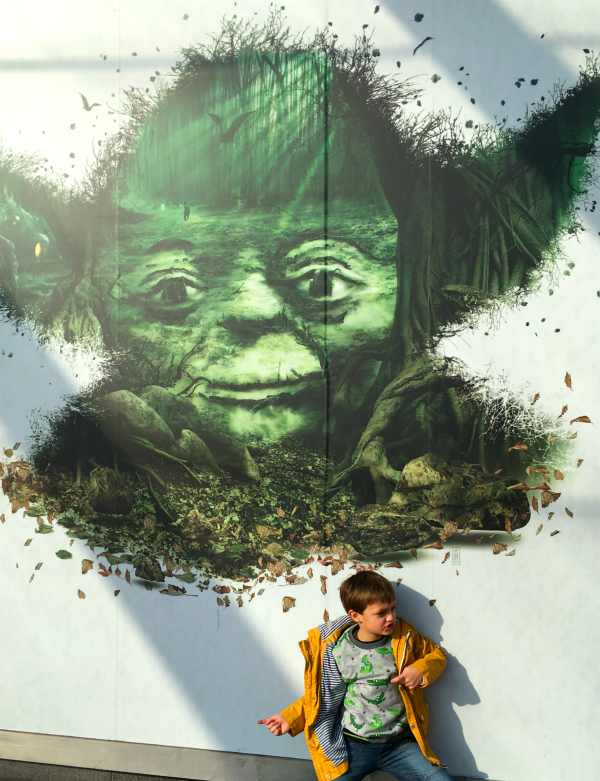 Yoda at Star Wars identities