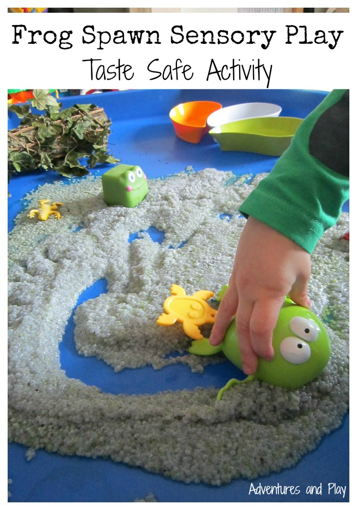 Frog Spawn Sensory Play Taste Safe Activity