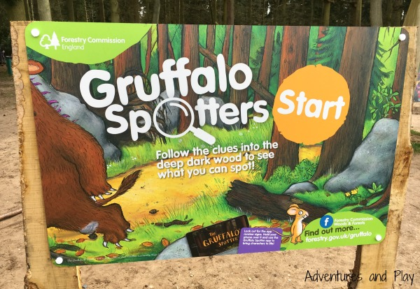 Gruffalo Spotters trail start