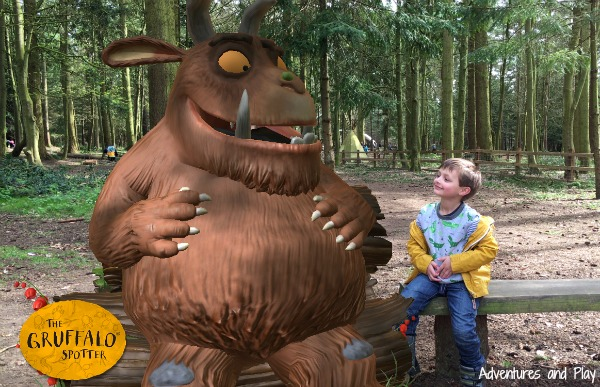 Gruffalo spotter app at Thetford Forest