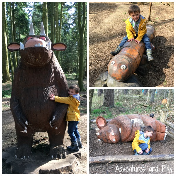Sculptures at Thetford Forest