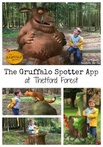 The Gruffalo Spotter App at Thetford Forest