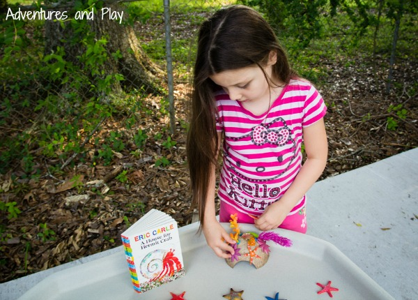 A House For Hermit Crab craft activity