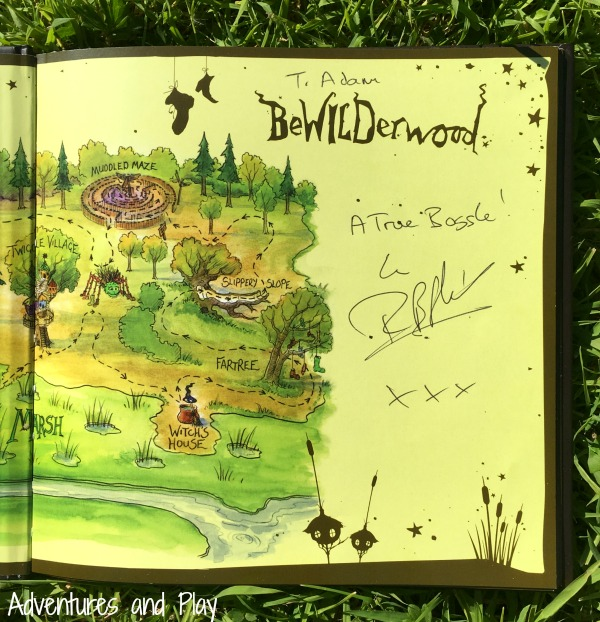 BeWILDerwood book signed by Tom Blofield