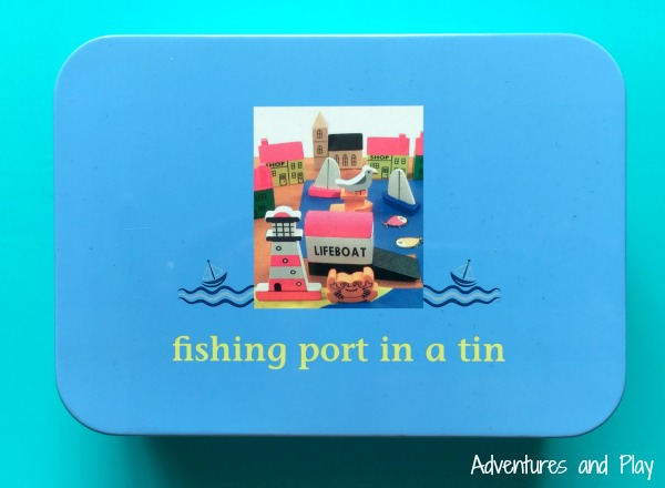 Fishing port in a tin review