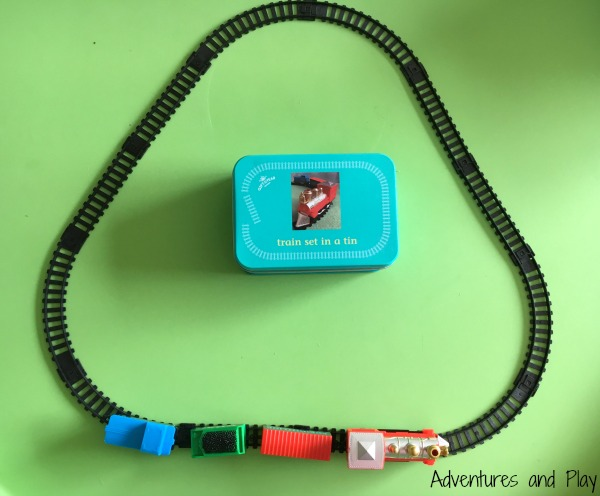 Train set busy bag