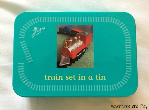 Train set in a tin review