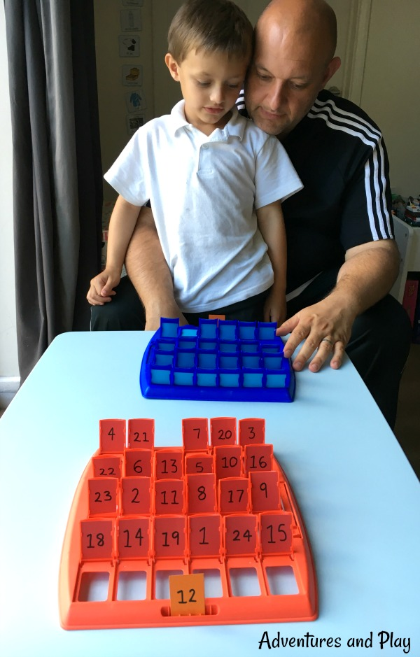 ways to play with numbers at home