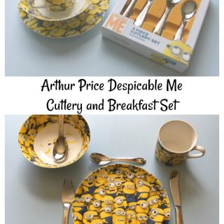 Arthur Price Despicable Me Cutlery and Breakfast Set