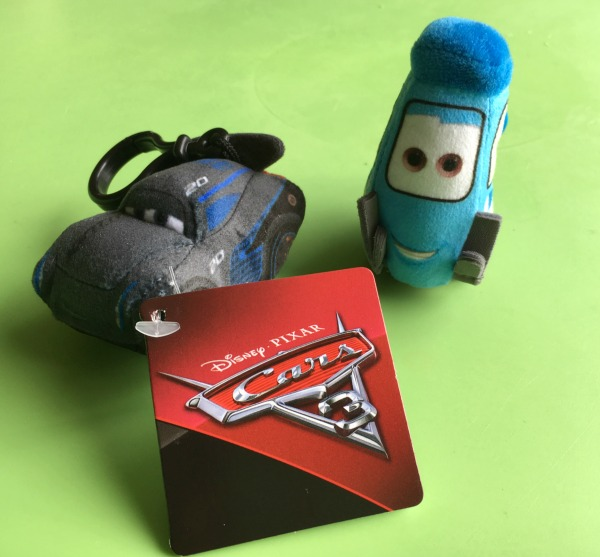 Cars 3 bag clips