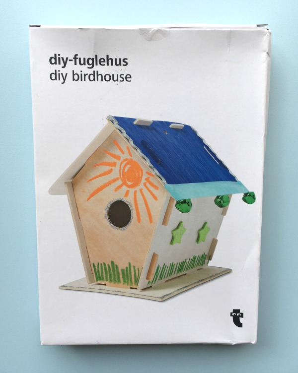 Flying Tiger Copenhagen DIY Birdhouse