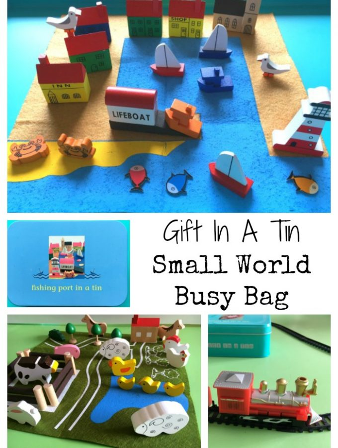 Gift In A Tin Review – Small World Busy Bag