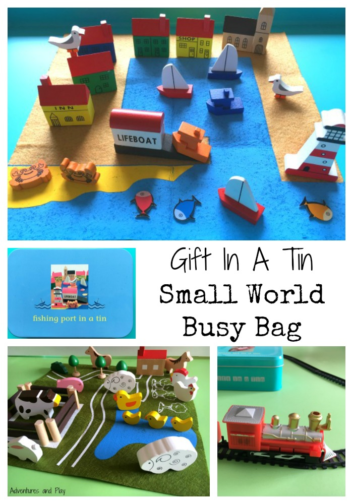 Gift In A Tin Review - Small World Busy Bag