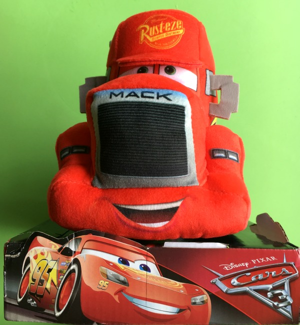 Mack 10 inch plush range toy