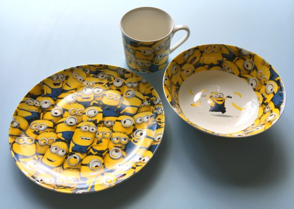 Minion breakfast set from Arthur Price