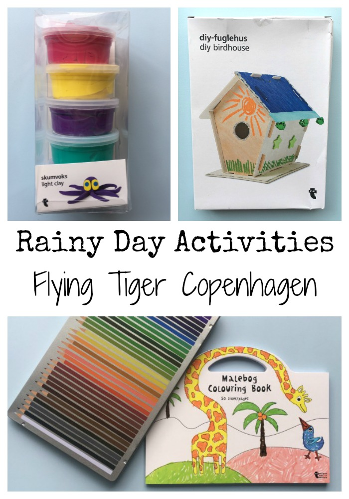 Rainy Day Activities With Flying Tiger Copenhagen