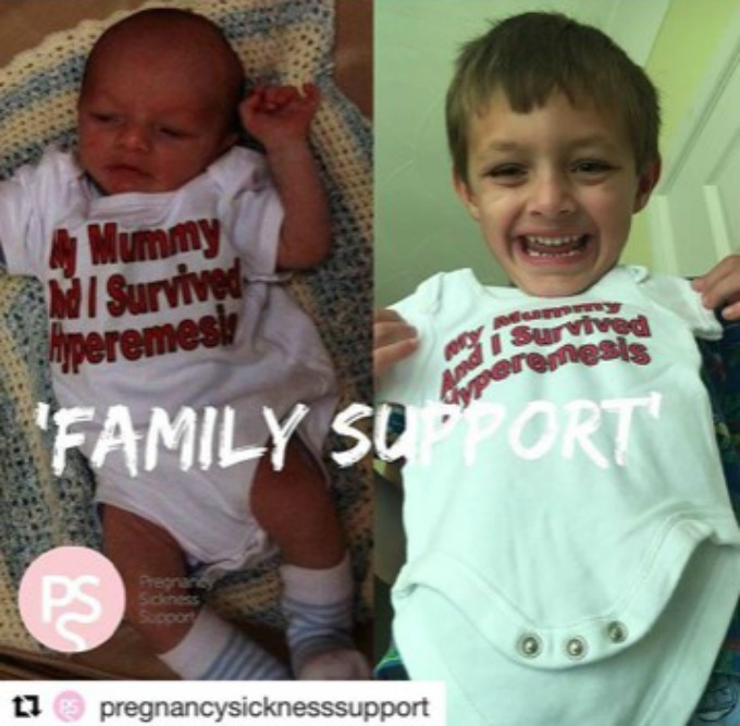 Family support and hyperemesis