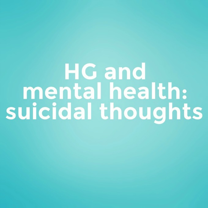 HG and mental health - suicidal thoughts